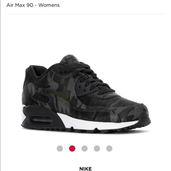 Nike Air Max 90 Camo Women's </p>                     </div> 		  <!--bof Product URL --> 										<!--eof Product URL --> 					<!--bof Quantity Discounts table --> 											<!--eof Quantity Discounts table --> 				</div> 				                       			</dd> 						<dt class=